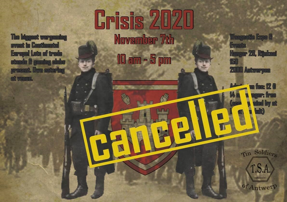 Crisis 2018 flyer